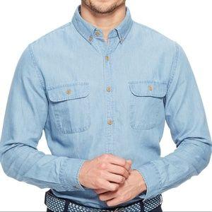 Vineyard Vines Slim Crosby Chambray Shirt XL